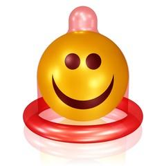 Spaß-Kondom, sicheres und gutes Gefühl beim Sex