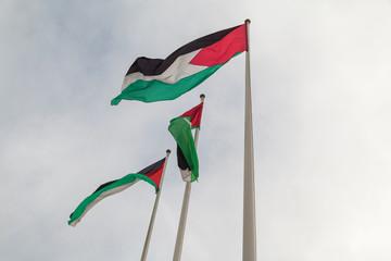 Flaggen Palästina