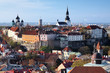 View of the Tallinn Old Town, Estonia