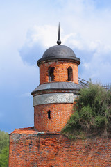 Turret of the castle in Dubno