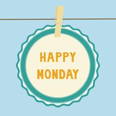 Happy Monday note1