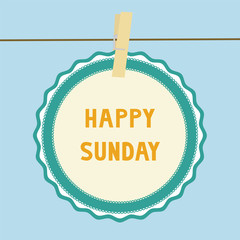 Happy Sunday note1