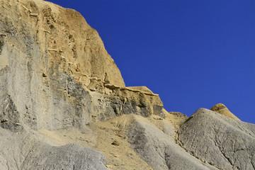 roche jaune des collines de l'Utah