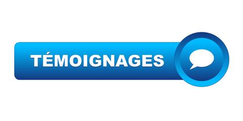 """Bouton """"TEMOIGNAGES"""" (avis clients utilisateurs enquête sondage)"""