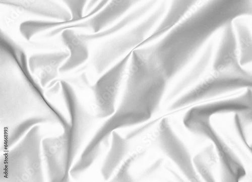 Weißer Satin - 64668993