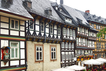 Old Fachwerk house in Goslar.