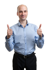Businessman Thumb Up