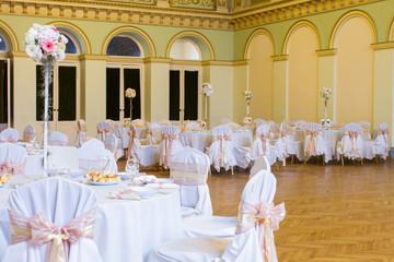 luxury wedding lunch table setting
