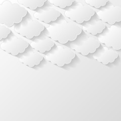 Abstract modern style background. Cloud storage concept