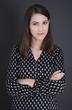 canvas print picture - Bewerbungsfoto einer jungen Business Frau
