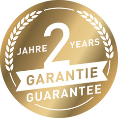 Siegel Gold 2 Jahre Garantie