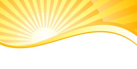 Sonne - Banner