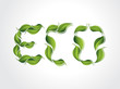 Eco Leaf Background