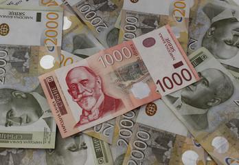 Serbian dinars