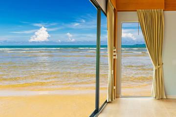 Room resort at beach