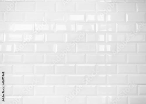 white ceramic brick tile wall,background