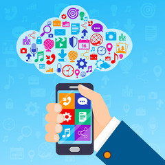 Mobile services cloud