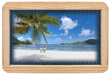 vacances scolaires sur les plages des Seychelles