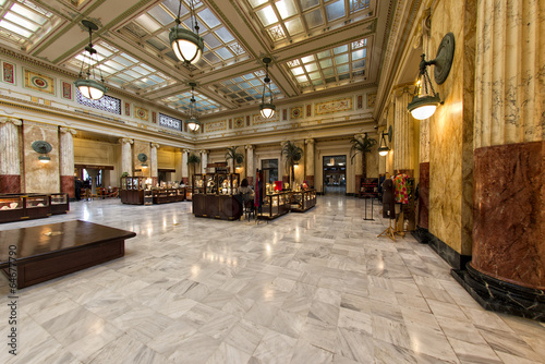 washington dc union station internal - 64677790