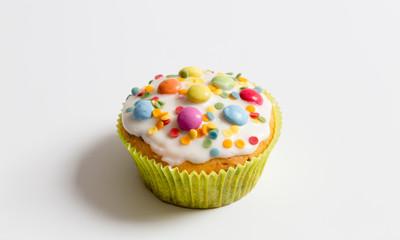 Muffins im Detail als Freisteller