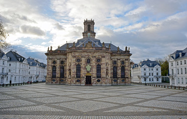 Barocke Ludwigskirche Saarbrücken