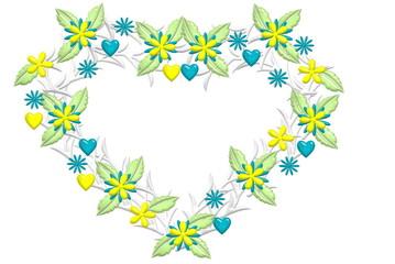 Blumendekor Midsommar