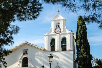 Church In Benalmadena Pueblo, Costa Del Sol, Andalucia, Spain