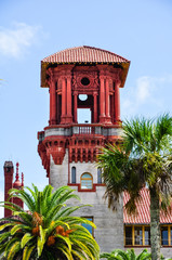 detail of st. augustine city hall