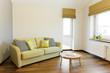 Interior with sofa