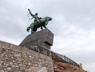 Monument of Salawat Yulaev in Ufa, Bashkortostan