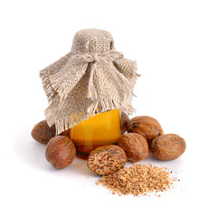 Nutmeg essential oil.