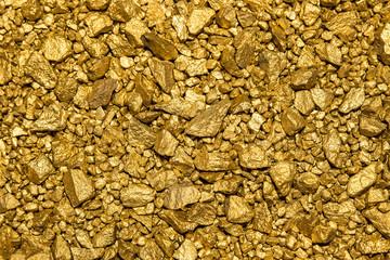 Hintergrund aus Goldnuggets