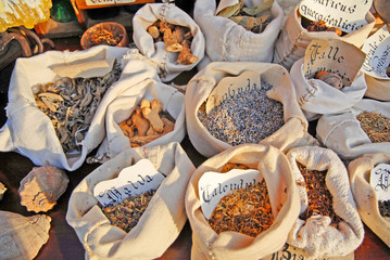 Seeds used in medieval time at the Seven Sorrows fair in Russi