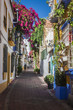 Leinwanddruck Bild - beautiful old city Marbella in Spain