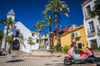 beautiful old city Marbella in Spain - 64686982