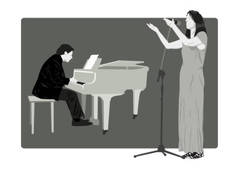 Pianist and Singer