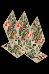 Alte Spielkarten Spiel
