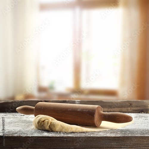 Leinwandbild Motiv desk
