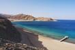 Постер, плакат: View of the Red Sea and coast Sinai in Taba Egypt