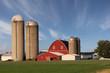 Leinwanddruck Bild - Modern Family Farm