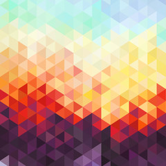 Abstract geometric background - origami