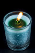 Beautiful Color Candle in Glass