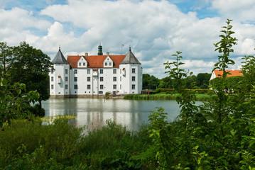 Schloss Glücksburg, renaissance castle near Flensburg, Germany.