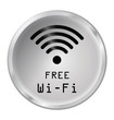 Monochrome free WiFi Icon