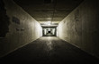 Empty tunnel at night - 64696796