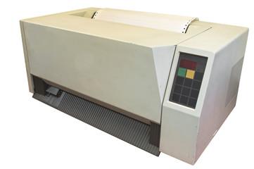 Ancient gigantic printer for ancient computer