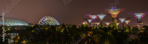 Aluminium Singapore Gardens by the Bay - SuperTree Grove in Singapore