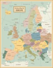 Europa-map.Layers très détaillées utilisée.