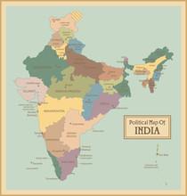 Inde-map.Layers très détaillés utilisés.