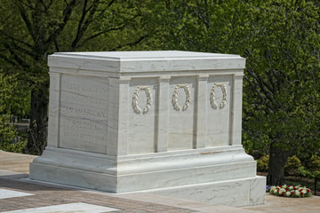 Unknown soldier monument in Arlington Cemetery
